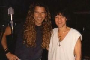 Mitch Malloy with Eddie Van Halen circa 1996