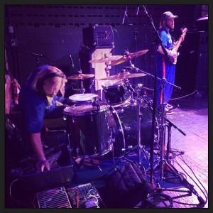 DJ Bixler and Wonderbred set-up at Mohawk